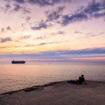 Coucher de soleil à la Havane