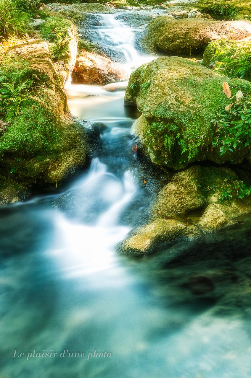 Lumière sur une rivière