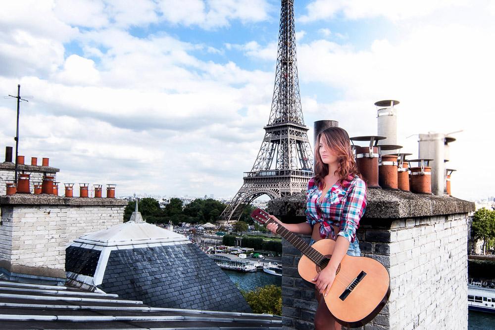 Toit de paris - rooftops - Chloé bonhaure