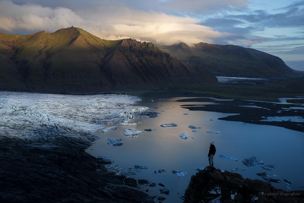 Skaftafellsjokull glacier en Islande