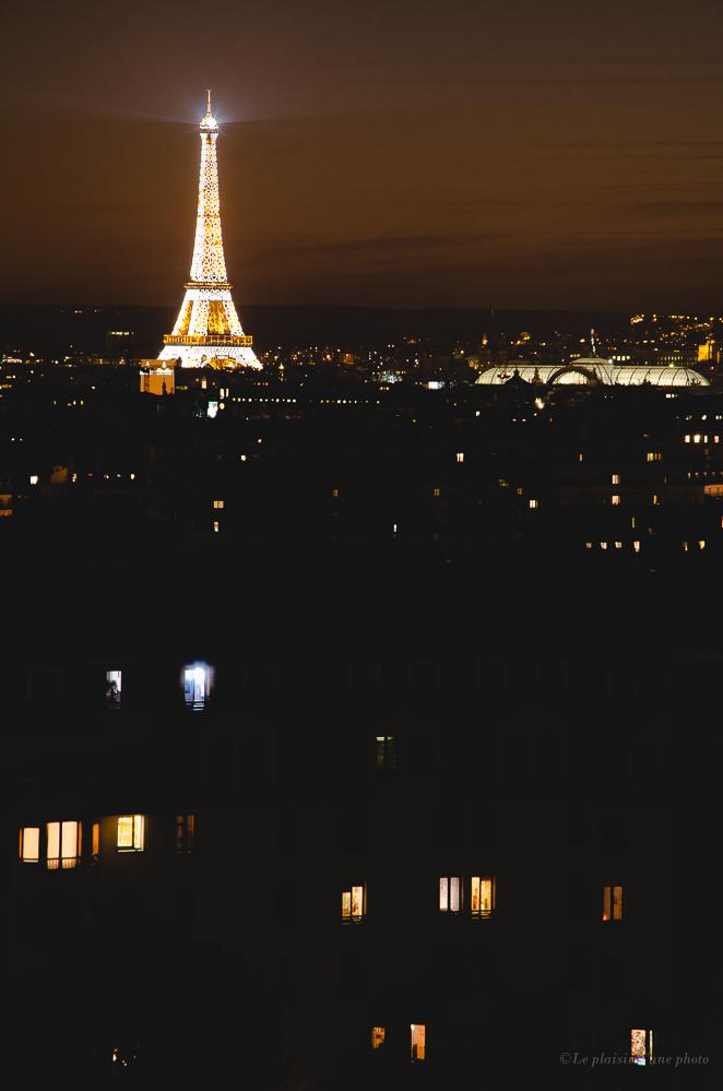 Vivre Paris la nuit